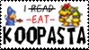 'I eat Koopasta' sprite stamp by koopasta