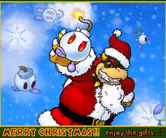 Koopa Claus Present