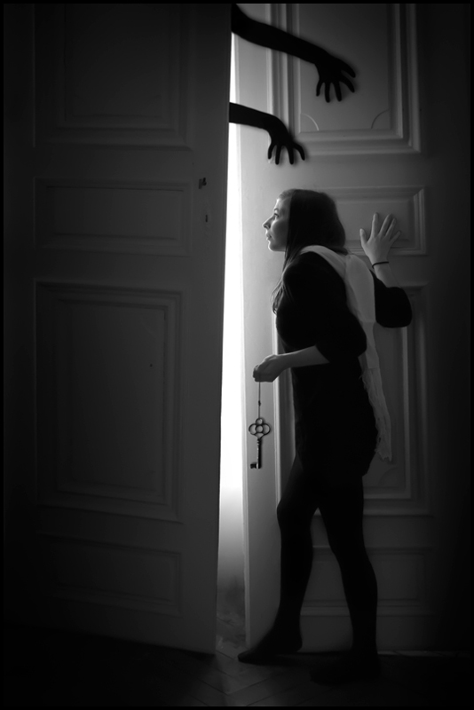 The mysterious door by les-akenes ... & The mysterious door by les-akenes on DeviantArt