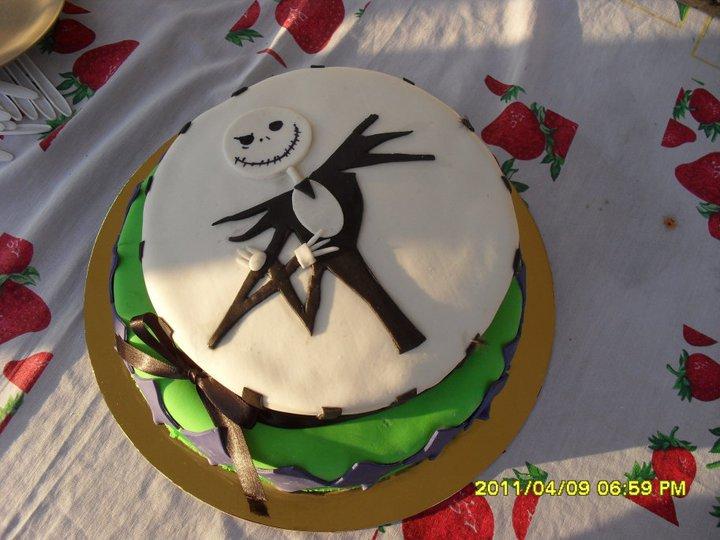 Jack Skellington Birthday Cake by princessaeris on DeviantArt
