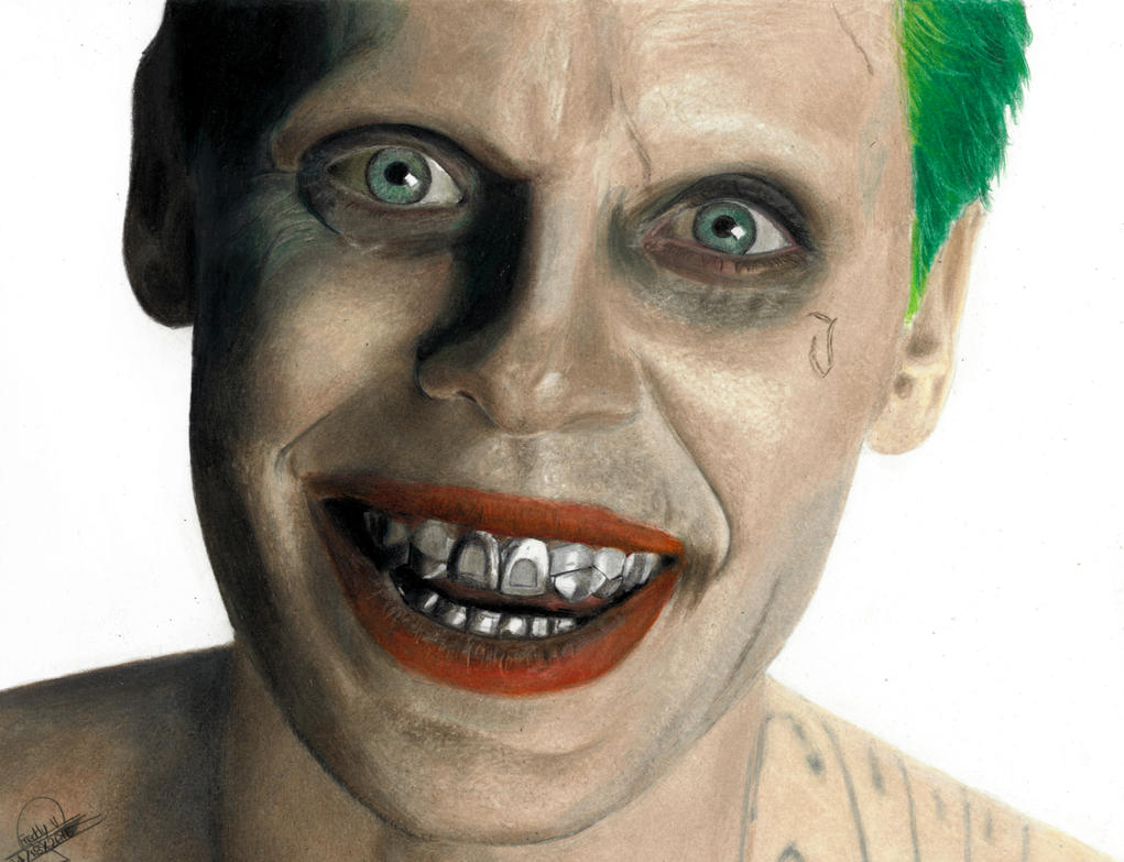 Jared Leto as Joker by Eddyvl