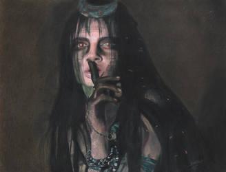 Cara Delevingne as  Enchantress by Eddyvl