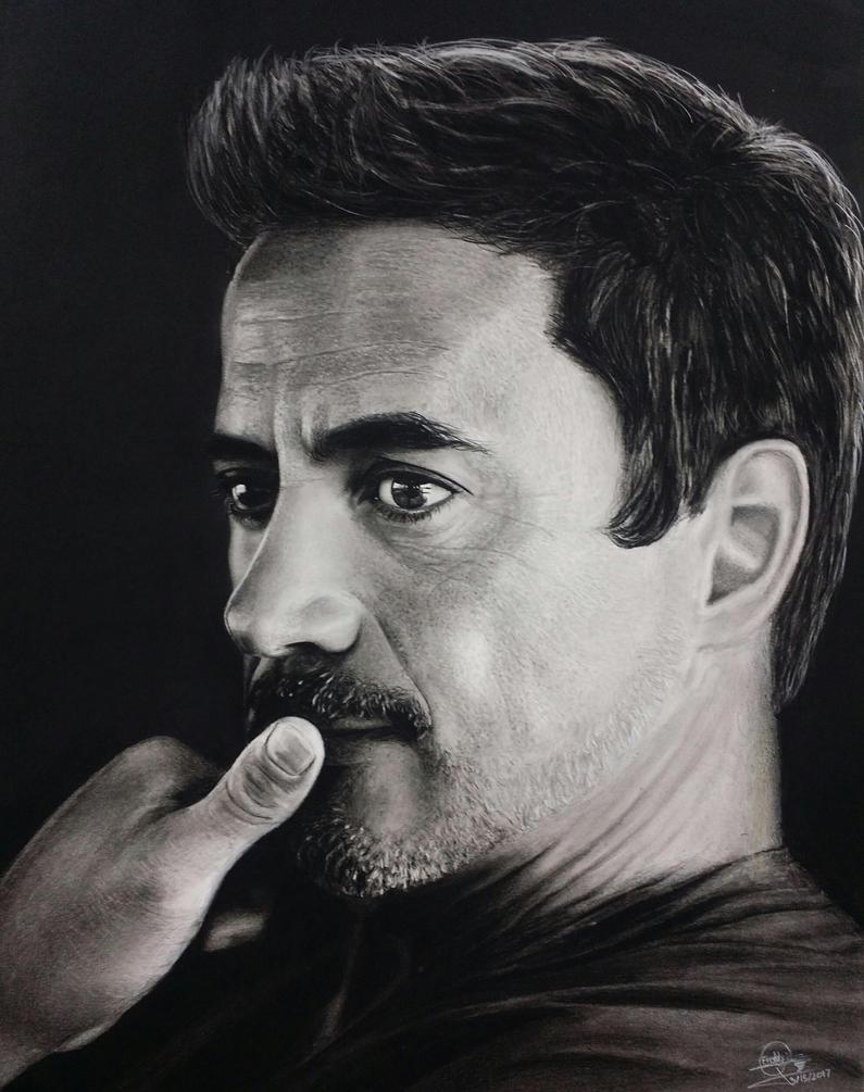 Robert Downey Jr by Eddyvl