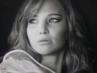Jennifer Lawrence. by Eddyvl