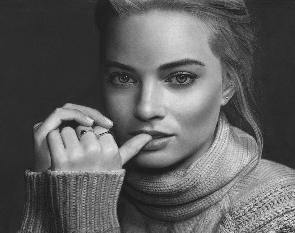 Margot Robbie. by Eddyvl