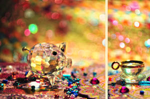 Piggy Colours II by cande-knd