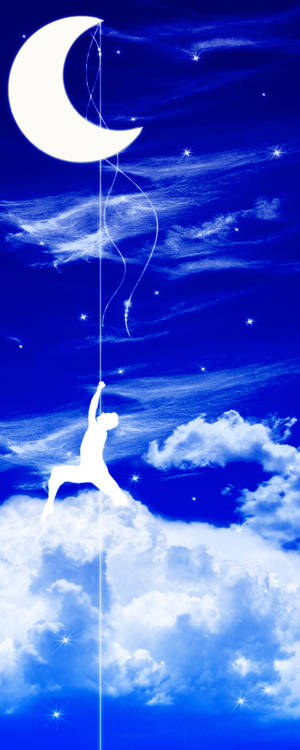 Walking to the moon for you...