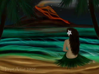 Hula Nights by ineptartist