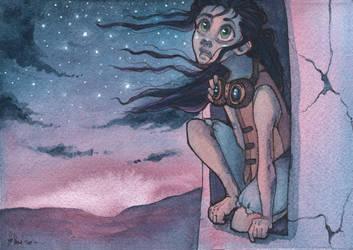 Skies of Eskara by The-MoonSquid