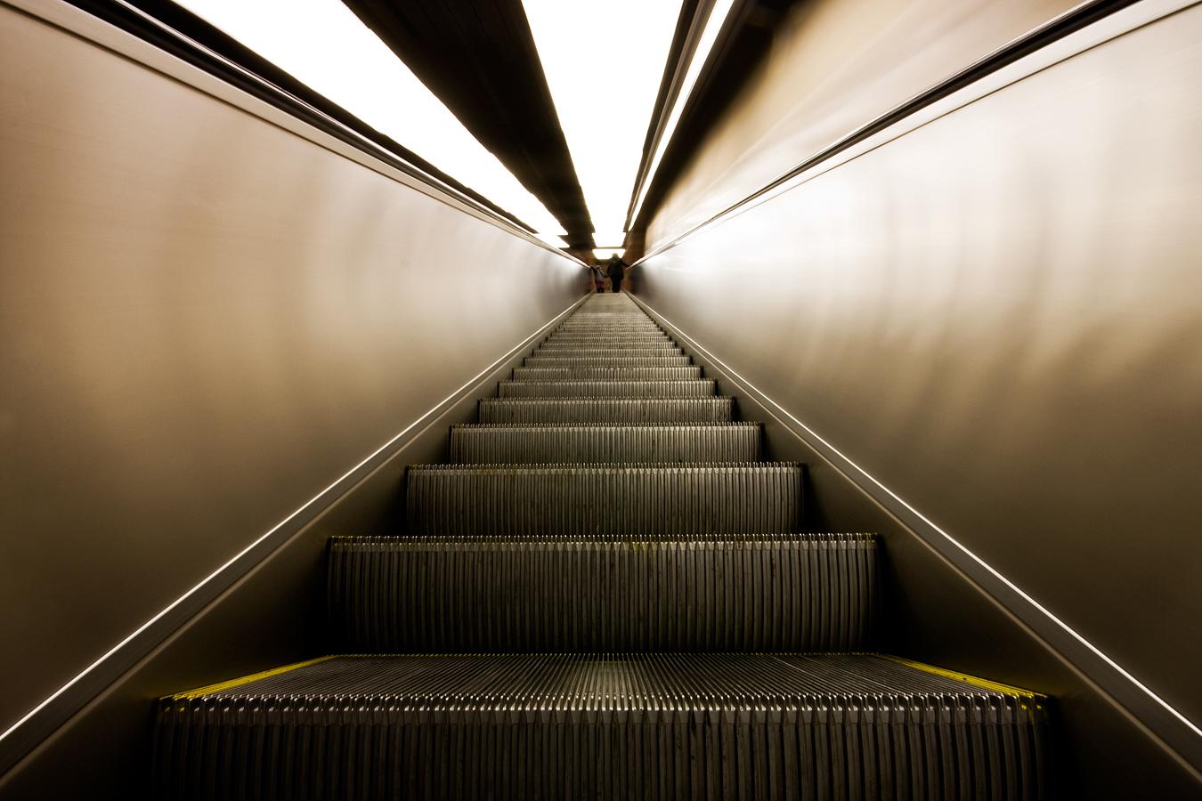 Escalator III by CalleHoglund