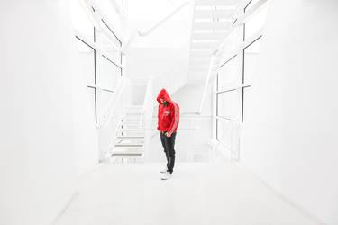 Red Hoodie Series III by calleartmark