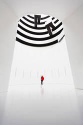 Red Hoodie Series VI by calleartmark