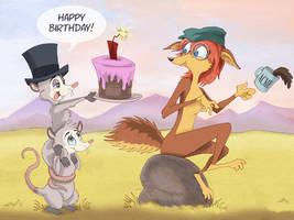 Happy Birthday, Coyote!