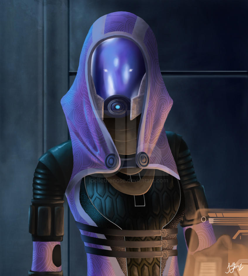 Tali'Zorah by JoelletheNose