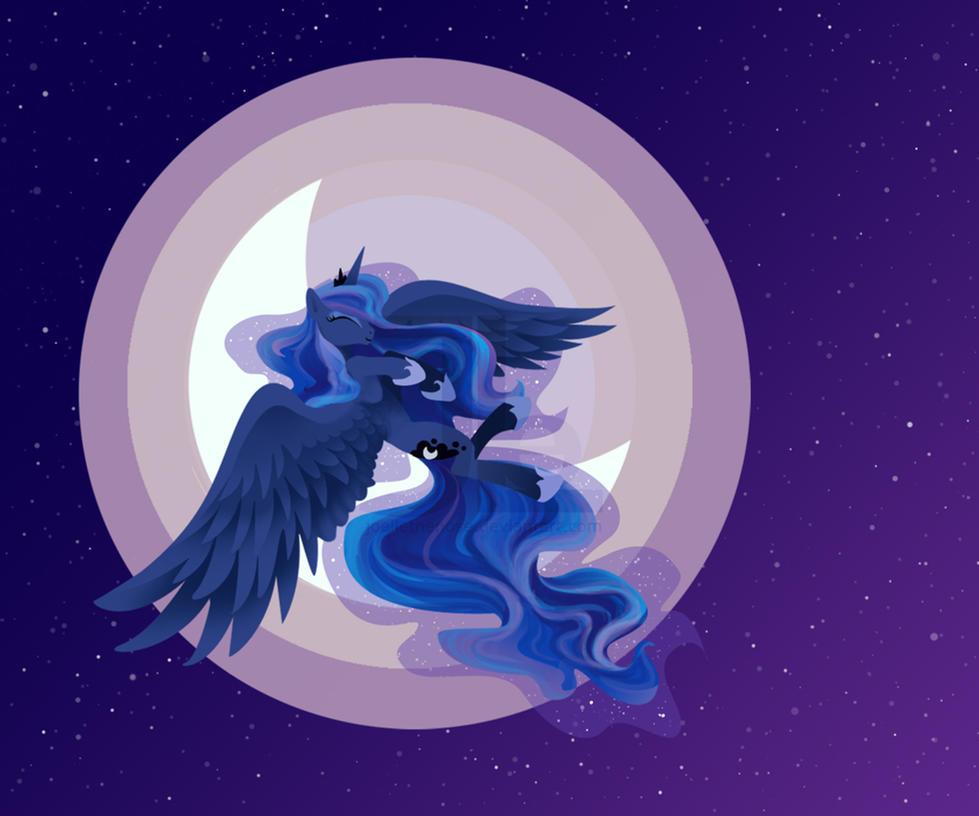 Moon Princess by JoelletheNose