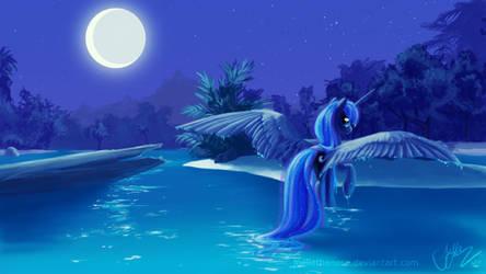 Nightswimming by JoelletheNose