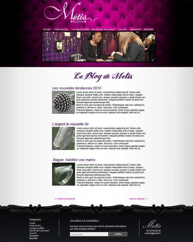 Metis Web design by Hybrid-creation
