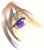 Tsuzuki s right eye by Rinoa18