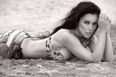 Beauty and the beach by mariannaphotography
