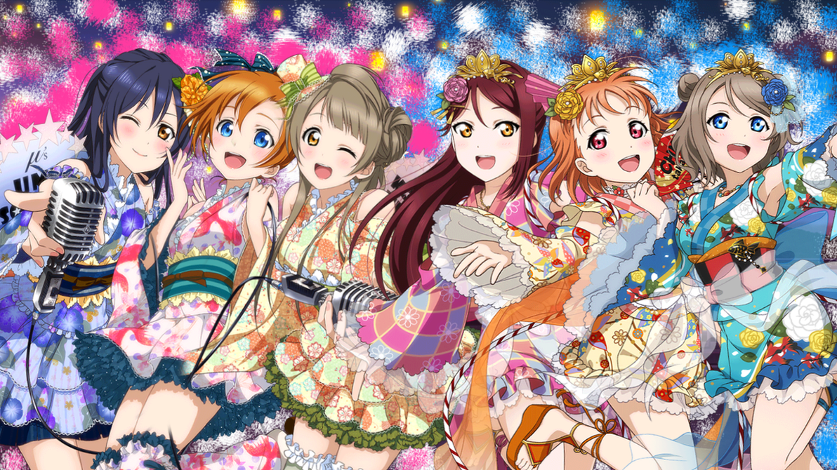 Love Live Muse And Aqours 2nd Years (PC Wallpaper) By