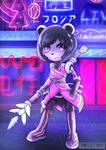 Cyberpunk Neera Li (Freedom Planet)