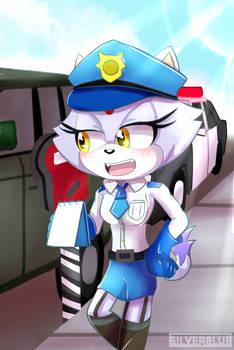 Officer Blaze the cat remake (Sonic)