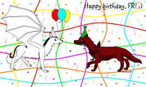 Happy Birthday, FR!
