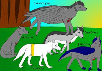 Fingolfinian Wolves 2014 by Ataraxia25