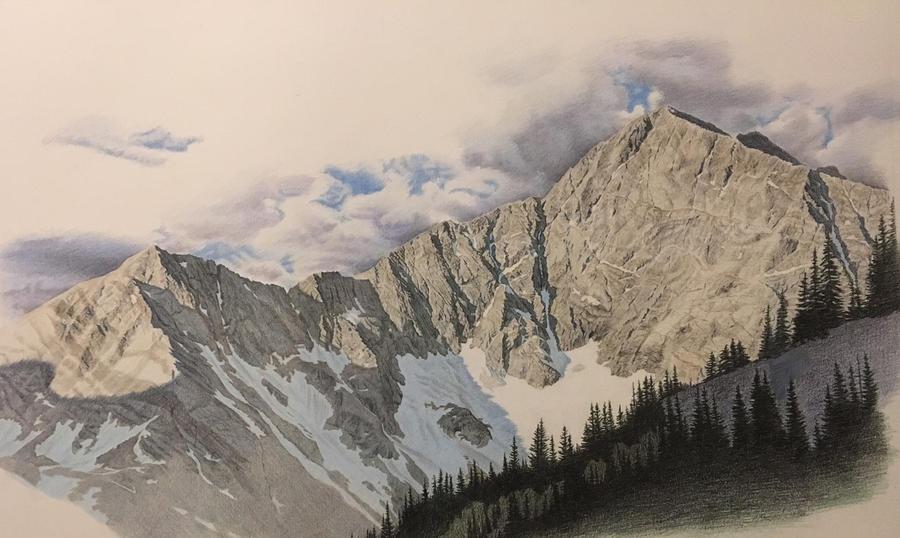 Sunrise over Blanca Peak by johnnydraws