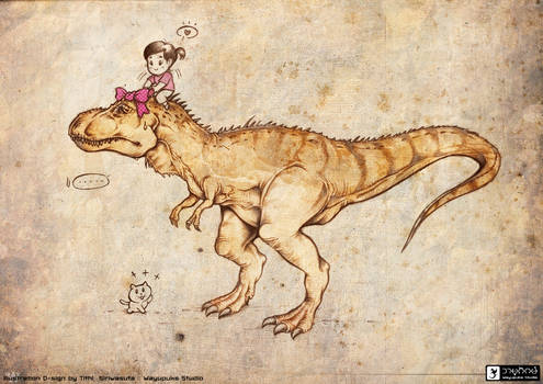 Wayupuks Studio - Puifai and T-Rex