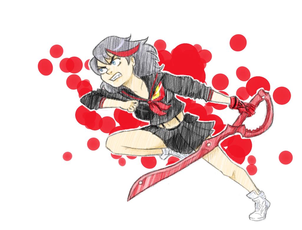 Matoi Ryuko by Vespertillion