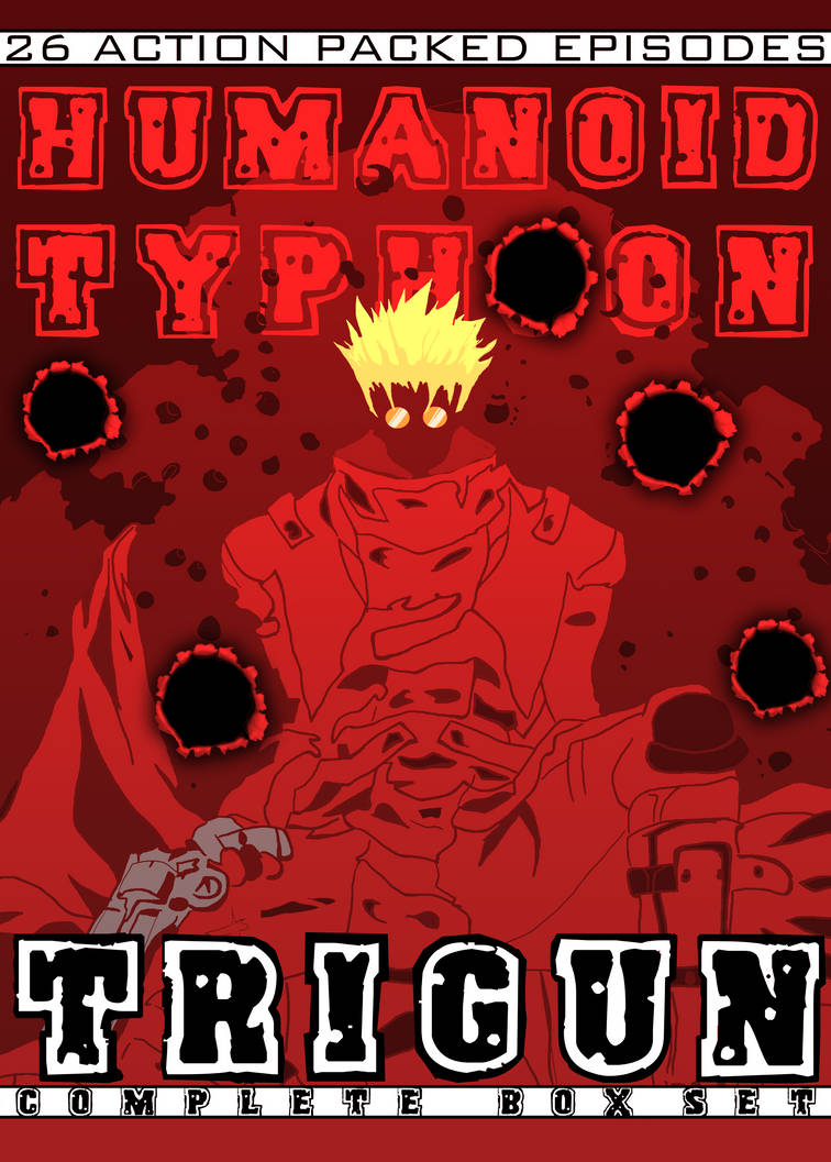 Trigun DVD Packaging Front Cover by null-ghoul