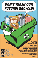 Recycling - Little Kid Style by null-ghoul