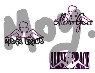 PornStar Logo Design - Alexis Grace by null-ghoul