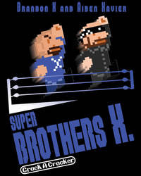 Brothers X (T-Shirt Design) by null-ghoul