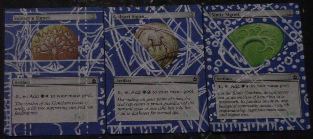 Blue Print Alters  Magic the Gathering Card Alters by felineLongmore