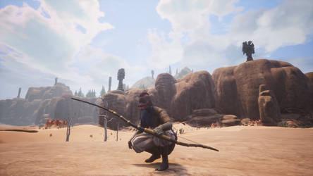 Demon archer by Ragnarok6664