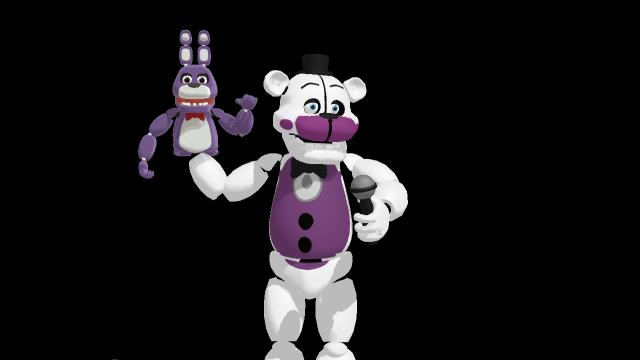 Mmd Funtime Freddy: MMD,the Horrible Funtime Freddy Model Ever Made... By