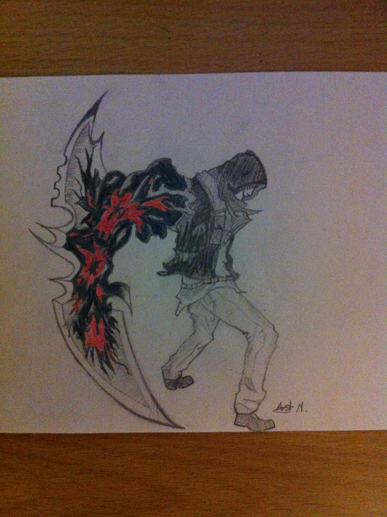 Prototype 2: Alex Mercer: blade arm by Fiery24 on DeviantArt