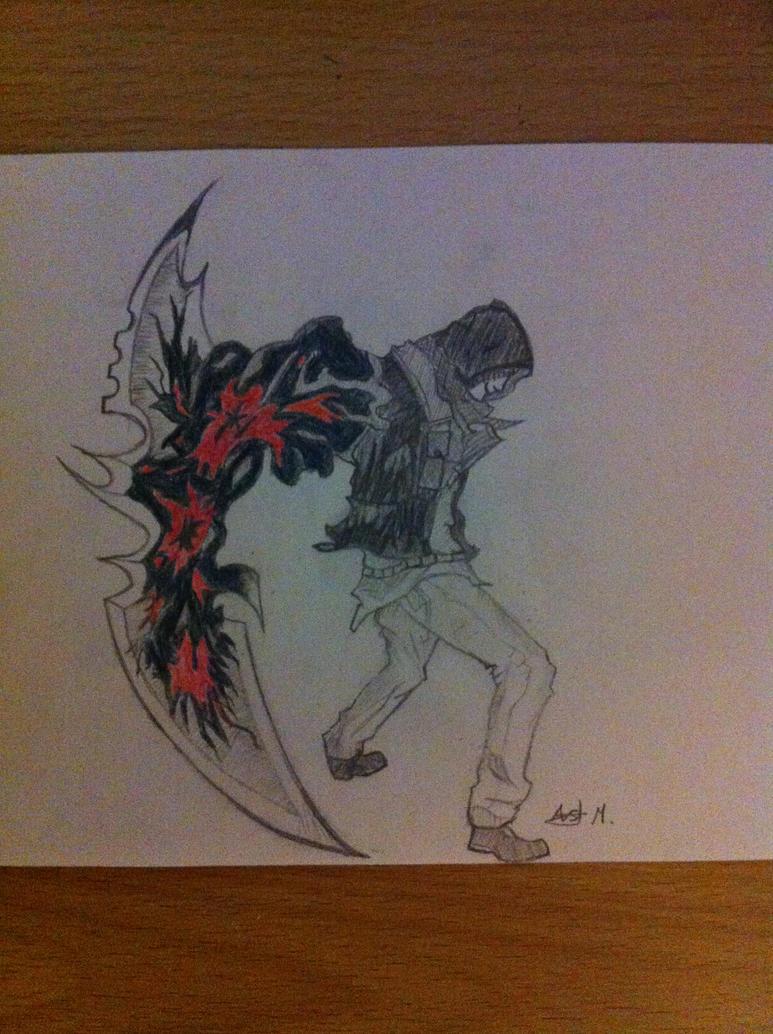 Prototype 2: Alex Mercer: blade arm by Fiery24 on DeviantArt