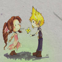 FF7 : Only One Gil by Chenille-Cerise