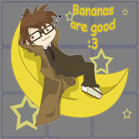 Doctor Who : I like bananas by Chenille-Cerise