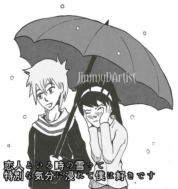 Umbrella meme/special feeling by JimmyDArtist