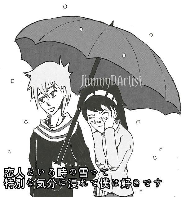 Umbrella meme/special feeling by JimmyDArtist