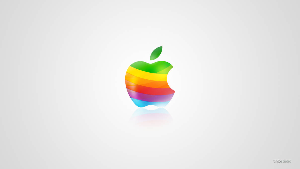 Apple Cool Color Logo by tinjothomasc