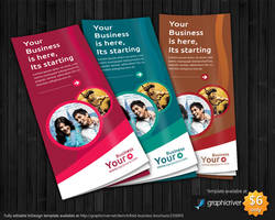 Trifold A4 Brochure Template design by tinjothomasc
