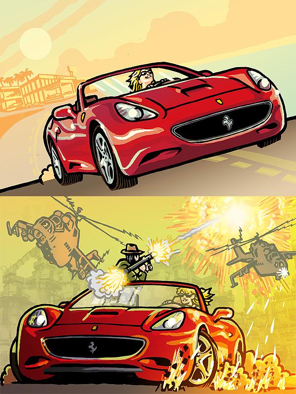 Ferrari by RobertRath