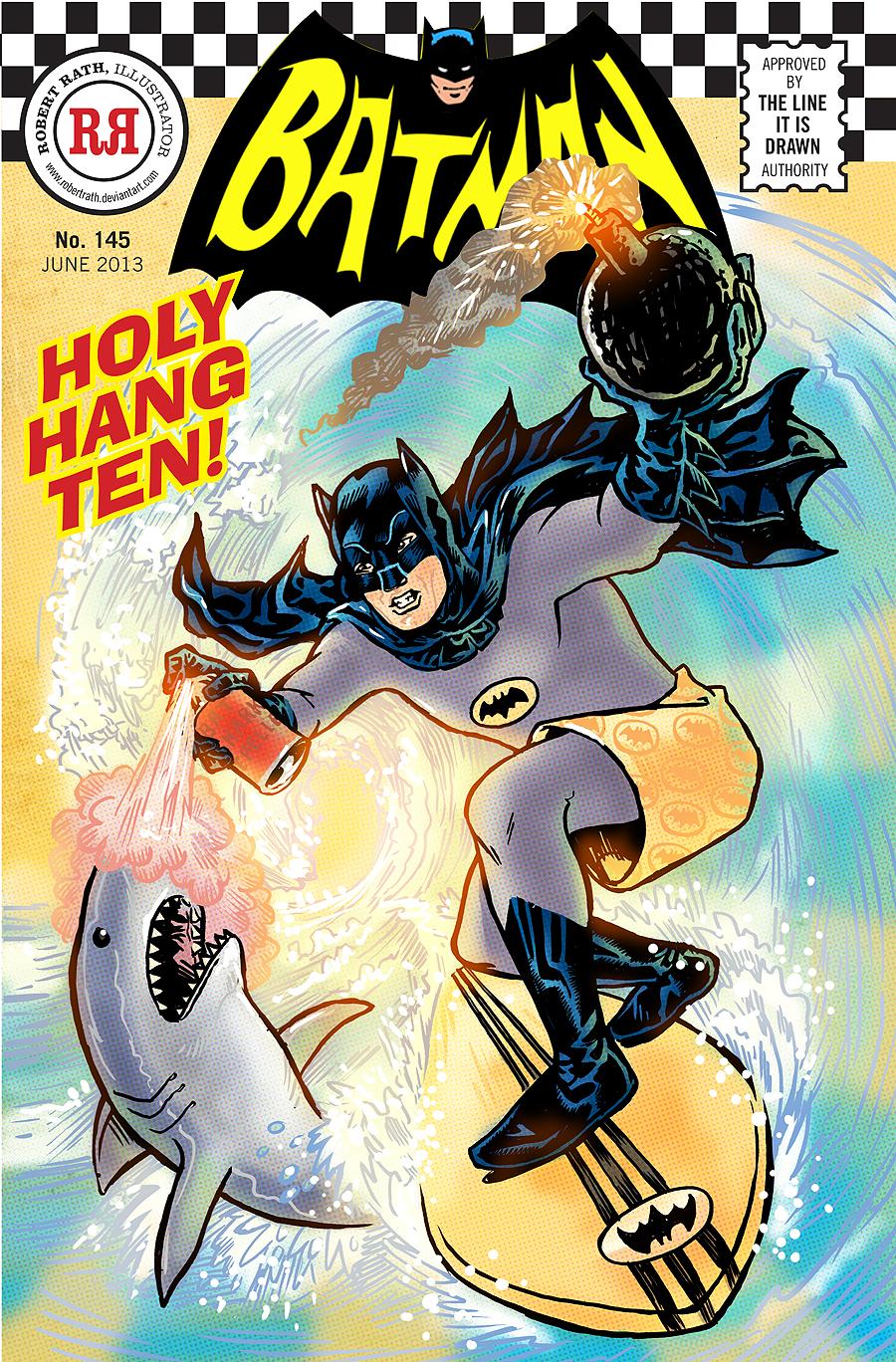 Holy Surf's Up, Batman!