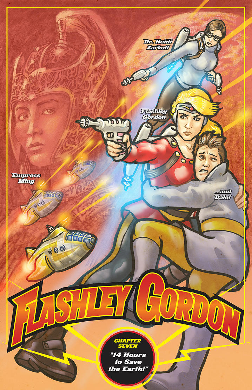 Flashley Gordon final by RobertRath