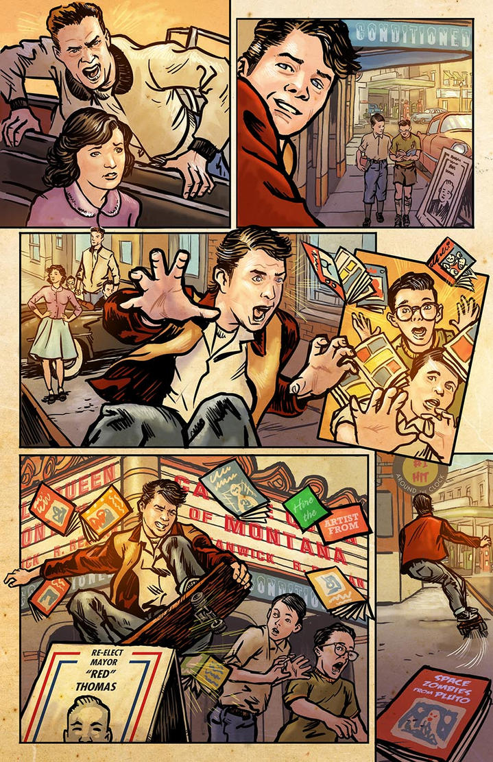 Back to the Future Sample page 3 by RobertRath